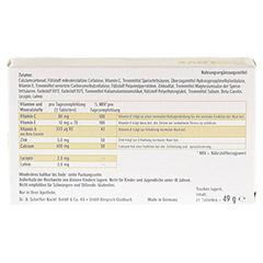 MARIE Claire Sunlove Tabletten 60 Stück - Rückseite