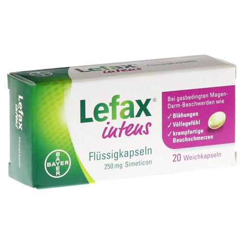 LEFAX intens Flüssigkapseln 250 mg Simeticon 20 Stück