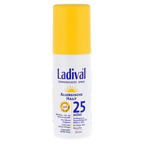 LADIVAL allergische Haut Spray LSF 25 150 Milliliter