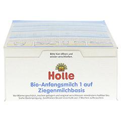 HOLLE Bio Anfangsmilch 1 auf Ziegenmilchbasis 400 Gramm - Oberseite