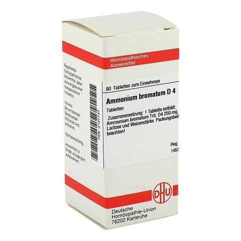 AMMONIUM BROMATUM D 4 Tabletten 80 St�ck N1
