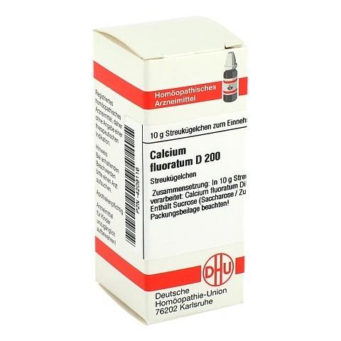 CALCIUM FLUORATUM D 200 Globuli 10 Gramm N1