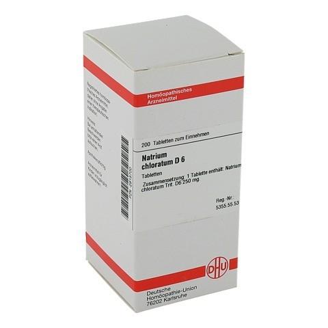 NATRIUM CHLORATUM D 6 Tabletten 200 St�ck N2