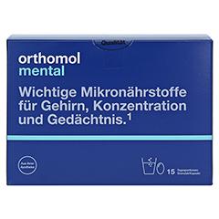 ORTHOMOL mental Granulat+Kapseln 15 Tagesportionen 1 Packung - Vorderseite