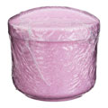Gebissdose rosa mit Einsatz u.Deckel