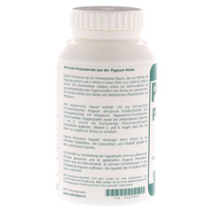 PYGEUM Phytosterol vegetarisch Kapseln 200 St�ck - Linke Seite