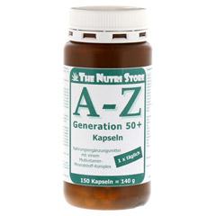 A-Z Generation 50+ Multivit.Mineralstoff Kapseln 150 Stück