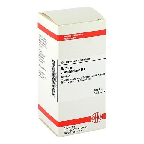 NATRIUM PHOSPHORICUM D 6 Tabletten 200 St�ck N2