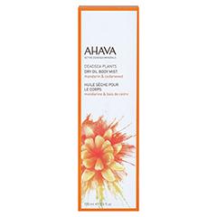 Ahava Dry Oil Body Mist Mandarine & Zedernholz 100 Milliliter - Vorderseite