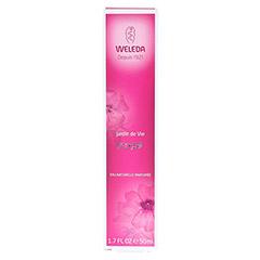 WELEDA Jardin de Vie rose-Eau Naturelle Parf. 50 Milliliter - Vorderseite