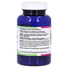 CRANBERRY 400 mg GPH Kapseln 120 St�ck - R�ckseite