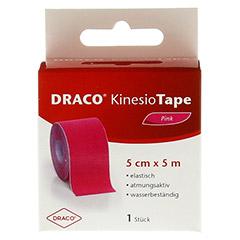 DRACO KINESIOTAPE 5 cmx5 m pink 1 Stück - Vorderseite