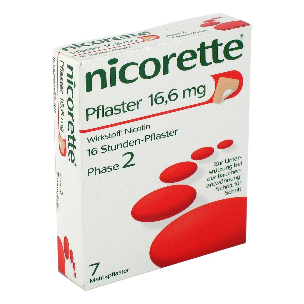 nicotinell pflaster stufe 2