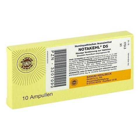 NOTAKEHL D 5 Ampullen 10x1 Milliliter N1