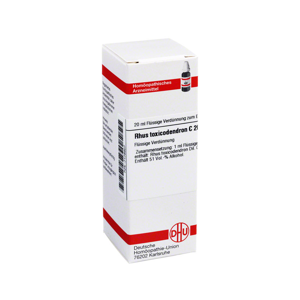 RHUS TOXICODENDRON C 200 Dilution 20 Milliliter