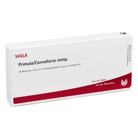 PRIMULA/CONVALLARIA comp.Ampullen 10x1 Milliliter N1