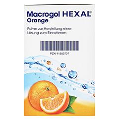 MACROGOL HEXAL Orange Plv.z.Her.e.Lsg.z.Einn.Btl. 20 Stück - Linke Seite