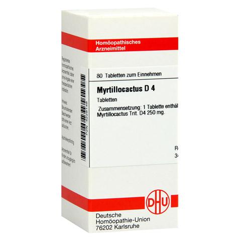MYRTILLOCACTUS D 4 Tabletten 80 Stück N1