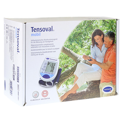 TENSOVAL mobil Handgel.Blutdruckuhr Comfort Air Te 1 Stück