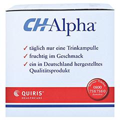 CH ALPHA Trinkampullen 30 Stück - Rechte Seite