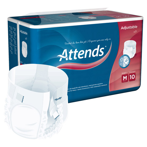 ATTENDS Adjustable 10 medium 21 Stück