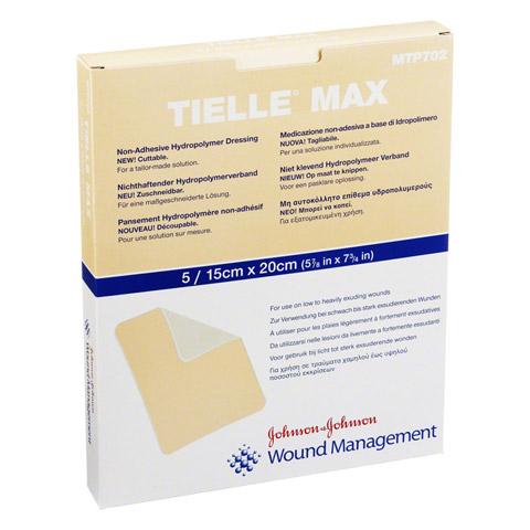 TIELLE Max Hydropolymer-Verband 15x20 cm 5 Stück