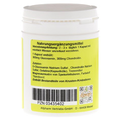GLUCOSAMIN+Chondroitin Kapseln 120 St�ck - Linke Seite