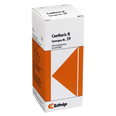 SYNERGON KOMPLEX 59 Cantharis N Tropfen 50 Milliliter N1