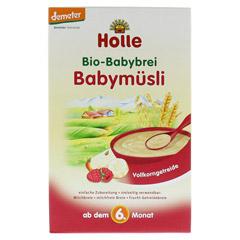 HOLLE Bio Babybrei Babym�sli 250 Gramm - Vorderseite