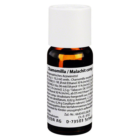CHAMOMILLA/MALACHIT comp.Dilution 50 Milliliter N1