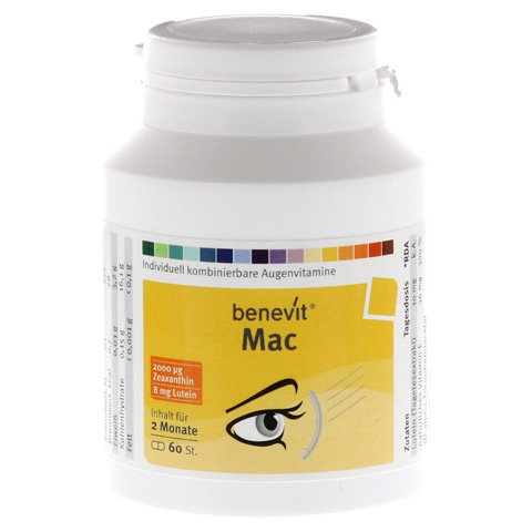 BENEVIT Mac Kapseln 60 St�ck