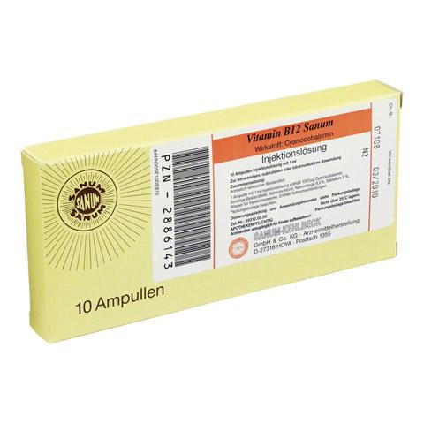 VITAMIN B12 Sanum Injektionsl�sung 10x1 Milliliter N2