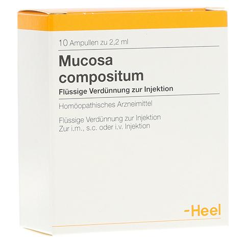 MUCOSA compositum Ampullen 10 Stück