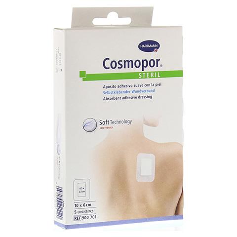 COSMOPOR steril 6x10 cm 5 Stück