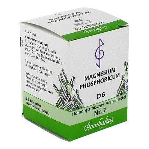 Biochemie 7 Magnesium phosphoricum D 6 Tabletten 80 Stück N1
