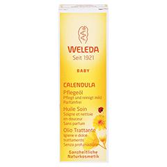 WELEDA Calendula Pflegeöl parfümfrei 10 Milliliter - Vorderseite