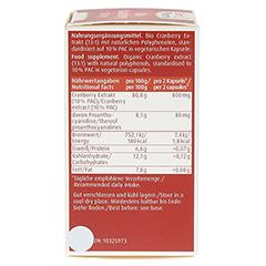 BIO CRANBERRY Vegi Kapseln 400 mg 60 Stück - Linke Seite