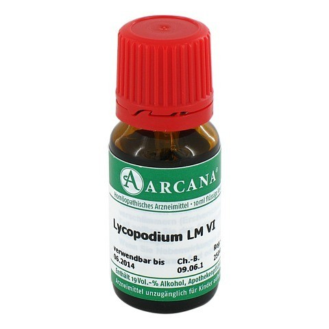 LYCOPODIUM Arcana LM 6 Dilution 10 Milliliter N1