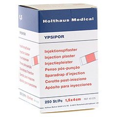 INJEKTIONSPFLASTER Ypsipor 1,5x4 cm 250 Stück