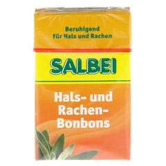 SALBEI HALS und Hustenbonbons 40 Gramm - Vorderseite