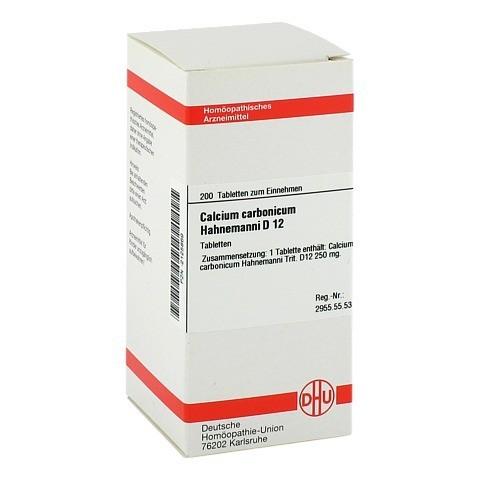 CALCIUM CARBONICUM Hahnemanni D 12 Tabletten 200 Stück N2