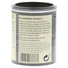 ACEROLA 100% natürliches Vitamin C Lutschtabletten 120 Stück - Rückseite