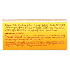 VITAMIN D3 Hevert 2.000 I.E. Tabletten 60 Stück - Rückseite