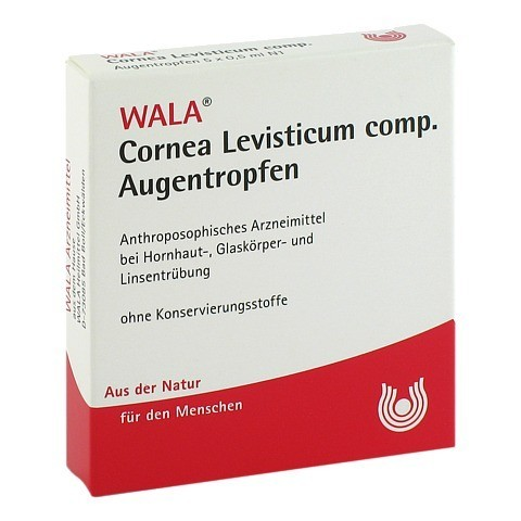 CORNEA Levisticum comp.Augentropfen 5x0.5 Milliliter N1