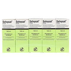 Salvysat B�rger 5x100 Milliliter - Vorderseite