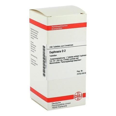 EUPHRASIA D 2 Tabletten 200 Stück N2