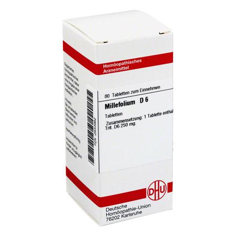 MILLEFOLIUM D 6 Tabletten 80 St�ck N1