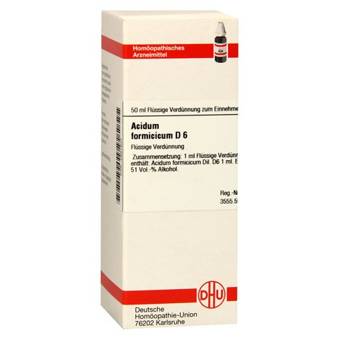 ACIDUM FORMICICUM D 6 Dilution 50 Milliliter N1