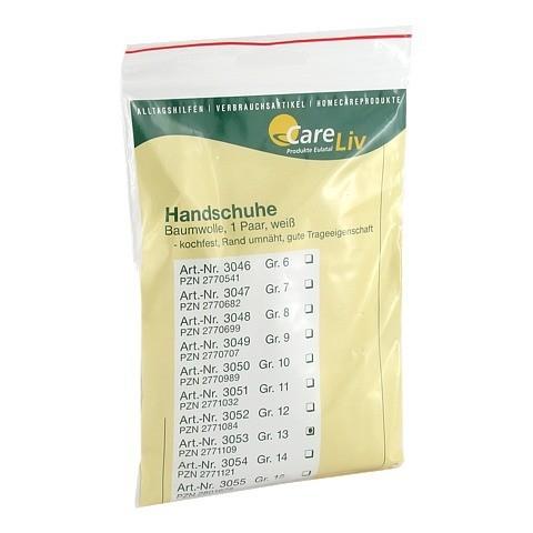 HANDSCHUHE Baumwolle Gr.13 2 Stück
