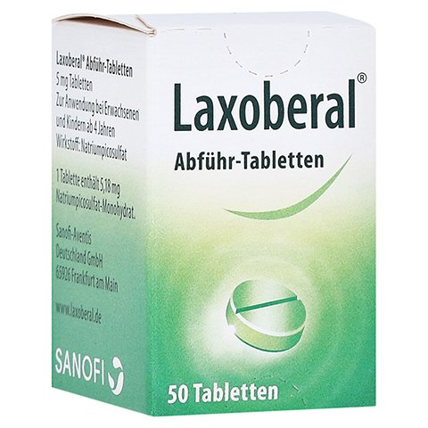 Laxoberal Abf�hr-Tabletten 5mg 50 St�ck N3